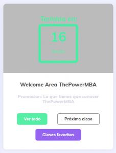 Plataforma de POWERMBA