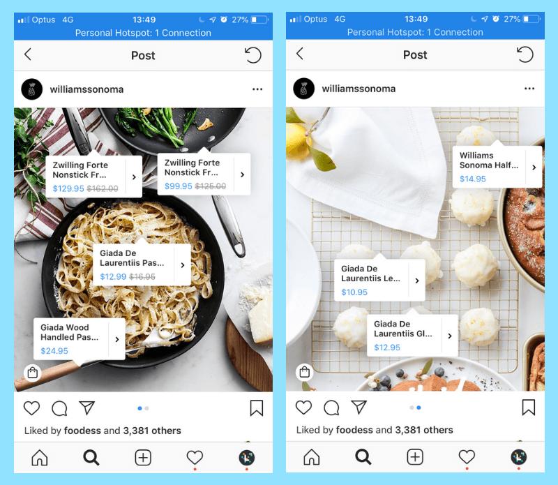 Instagram Shopping nos sirve para hacer un buen e-commerce