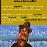 Los Backlinks de Calidad en imagenes