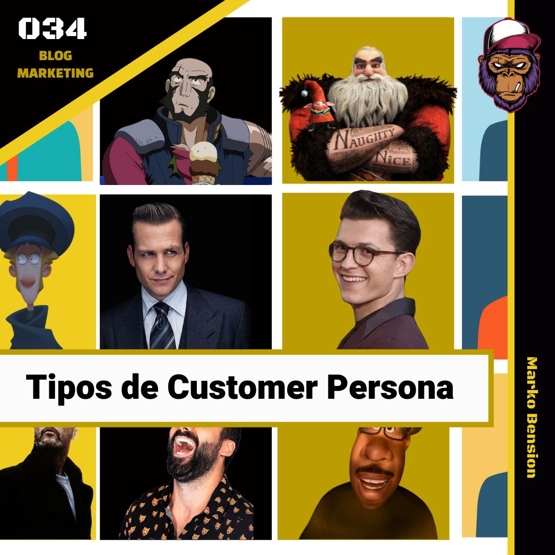 Tipos de Customer Persona