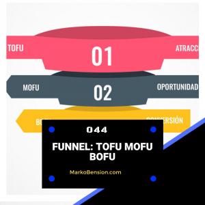 Funnel: TOFU MOFU BOFU
