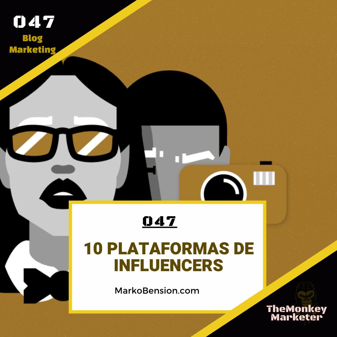 10 plataformas de influencers
