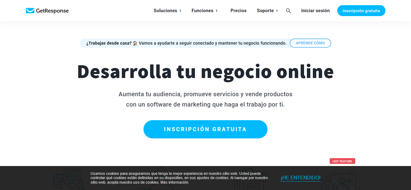 Herramientas para CRO - Software de Email Marketing Autoresponders por GetResponse