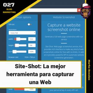 Site-Shot: La mejor herramienta para capturar una Web