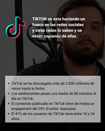 TikTok - Marketing de Influencia 2021